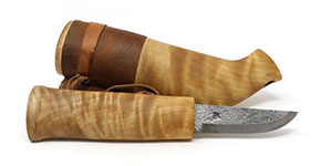 "3-1/8"" Swedish (Sami) Knife with Grand Marais (MN) Birch"