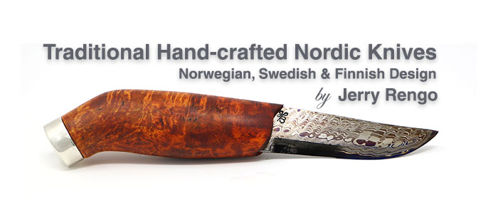 Traditional Hand-crafted Nordic Knives - Header Image